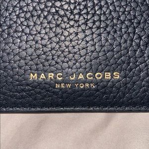 Marc Jacobs black peppled leather women's wallet